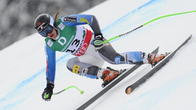 Women's Downhill Training - Alpine FIS Ski World Championships