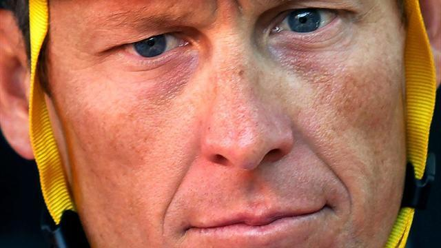 Cycling - Armstrong slams 'pathetic' McQuaid, is the 'scapegoat'