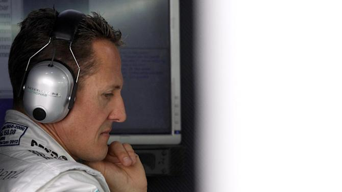 Formula 1 - Probe into theft of Schumacher medical records