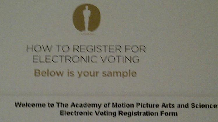 "Oscar Voting Deadlines Loom – Friday Cutoff For Requesting Paper Ballot; Academy Says New Electronic Voting Registration Process ""Going Well"""