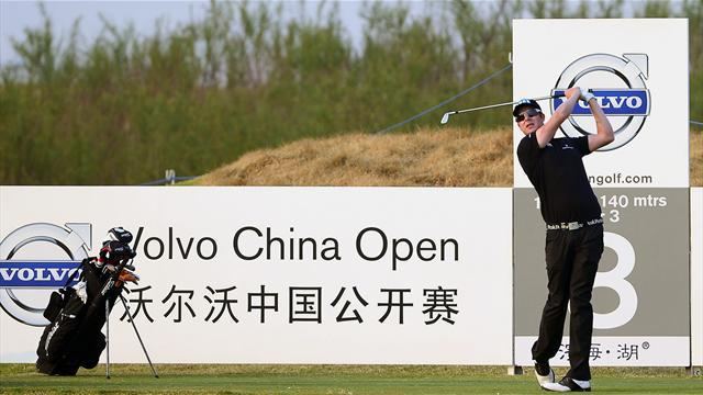 Golf - Finn Ilonen soars into three-shot lead in China