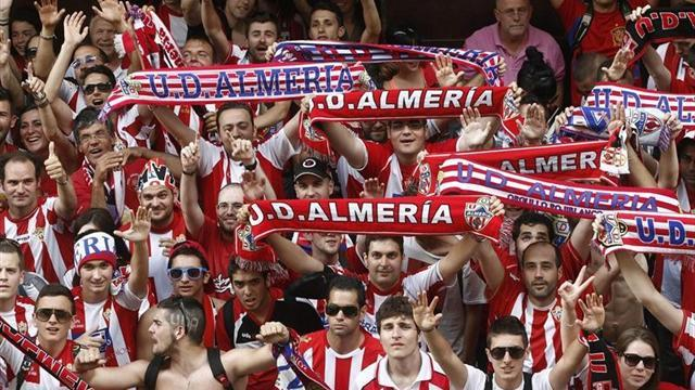 Liga - Almeria back in top flight after two-year absence