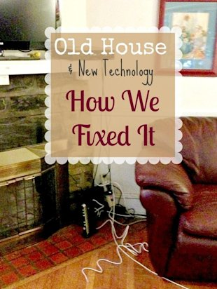 old house + new technology