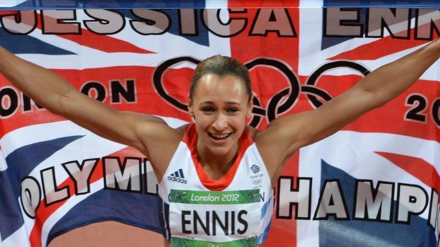Ennis named European athlete of the year