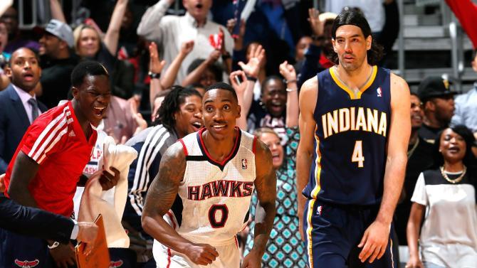 Teague, Korver lead Hawks past Pacers 98-85