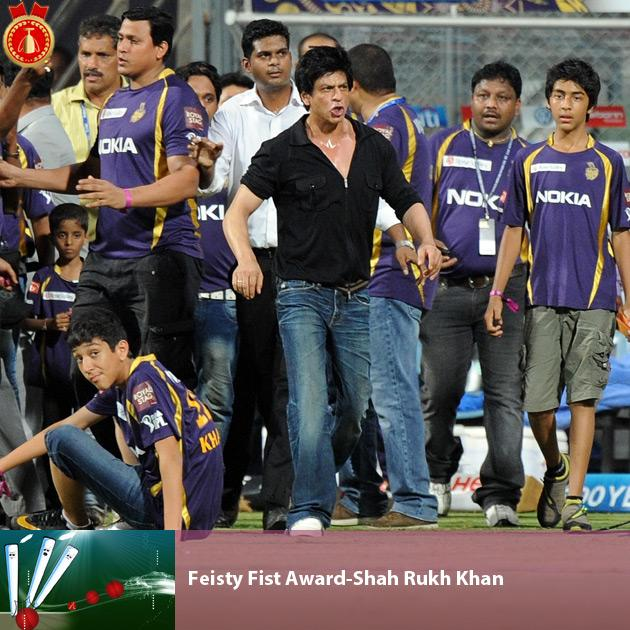 Feisty Fist Award-Shah Rukh Khan