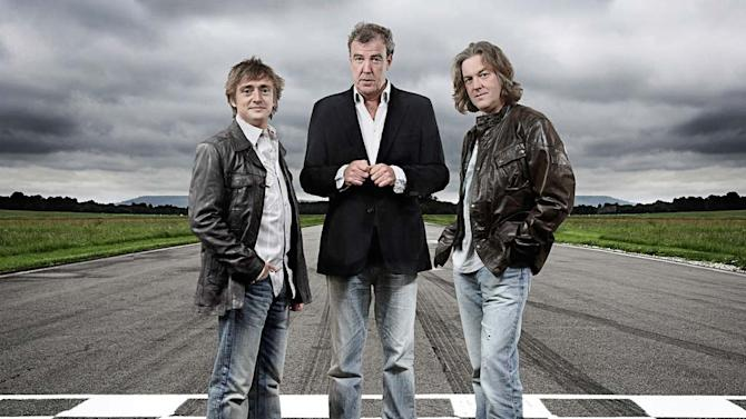 """The cast of """"Top Gear."""""""