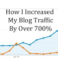 How I Increased My Blog Traffic By Over 700% image How I Incresed My Blog Traffic by Over 700 percent