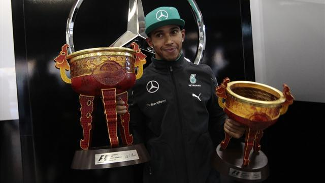 Formula 1 - Hamilton hails 'incredible' Mercedes after Shanghai cruise