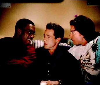 Bill Bellamy , French Stewart and Jason Bateman in Love Stinks