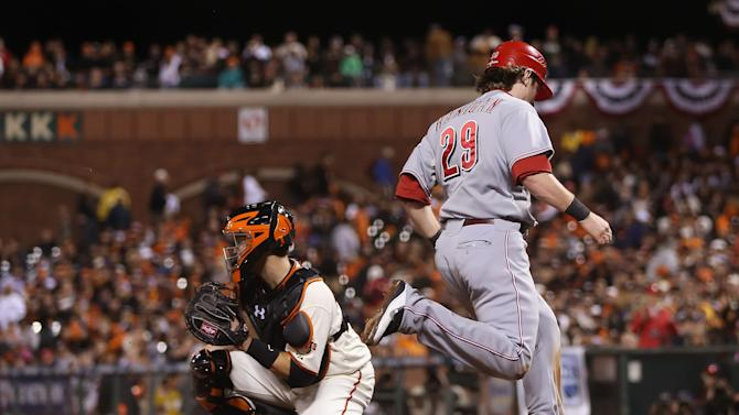 8 Division Series - Cincinnati Reds v San Francisco Giants - Game Two