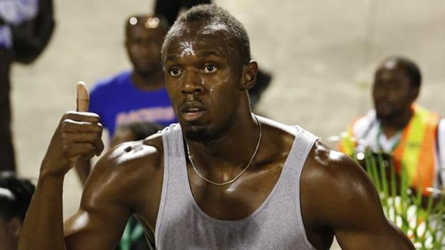 Athletics - Bolt: I'm back on track