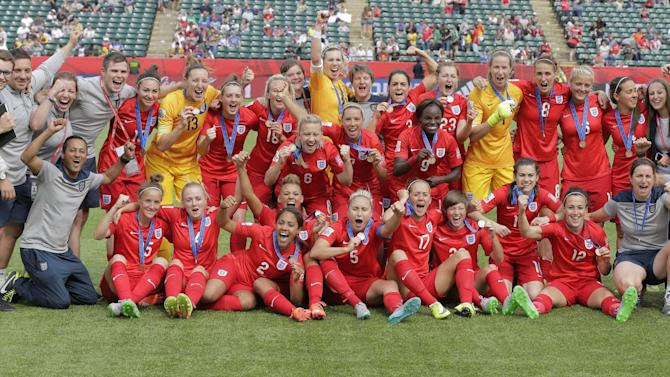 Women's World Cup - England finish third after historic extra-time win over Germany