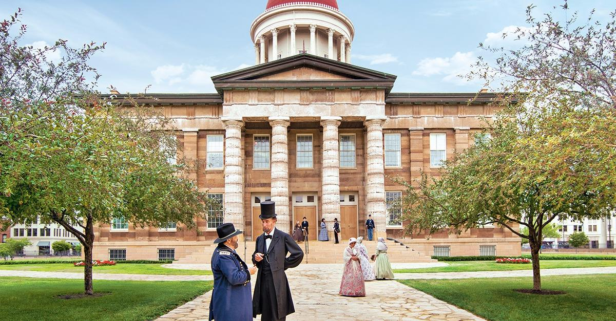 History comes alive in Springfield.