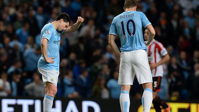 Premier League - Pellegrini hopeful but Manchester City's dream seems over