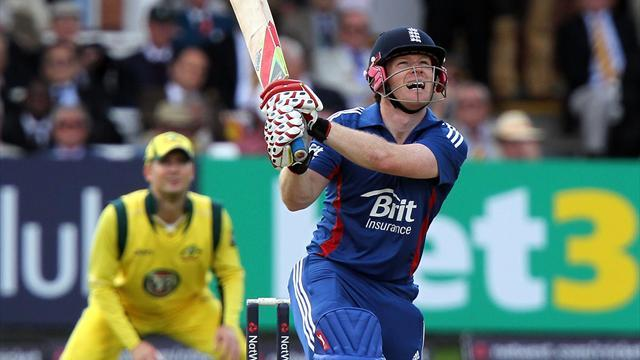 Cricket - Morgan delighted with super six
