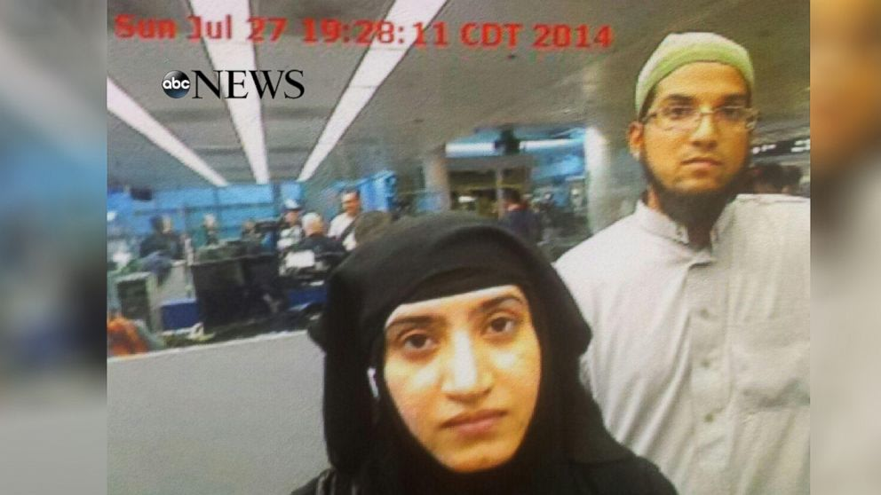 Welcome to America: New Photo Shows San Bernardino Terror Couple Entering US