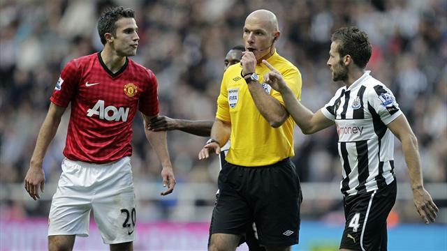 FA will not charge Van Persie, Tiote or Huth