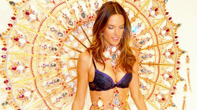 Victoria's Secret Fashion Show Sneak Peek: 30 Pound Wings and Lots of Bling