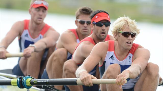 Rowing - Rowers prepare for Eton Dorney return with German outing