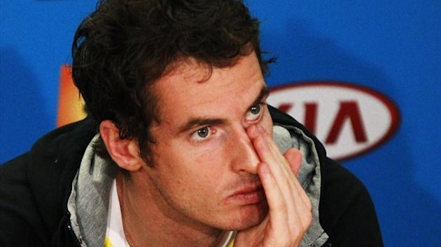 Fresh tears for Andy Murray - Australian Open 2013