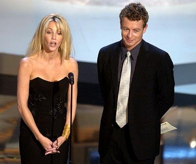 Heather Locklear and Simon Baker Emmy Awards - 9/22/2002