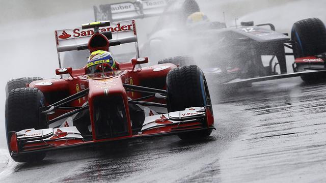 Formula 1 - Rain washes out Silverstone practice