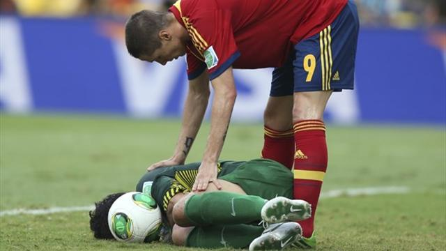 Confederations Cup - Spanish praise for example set by Tahiti