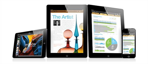 Choose the right apps and add-ons, and it's perfectly easy to work on tablet PCs such as iPad. (Image: Recombu)