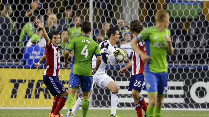 MLS Chivas USA Sounders Soccer