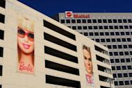Mattel Inc. offices in El Segundo, California. Barbie is running for US president again, the manufacturer of the iconic doll said, this time in a pink power suit from New York designer Chris Benz