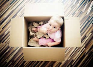 Why do Finnish babies sleep in boxes?