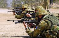 Photo illustration. The Australian military was hit by another scandal Wednesday after a young army recruit allegedly filmed himself having sex with a female cadet and broadcast it via Skype to his friends