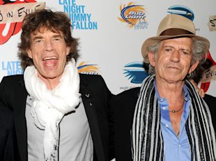 Mick Jagger y Keith Richards / Foto: AP