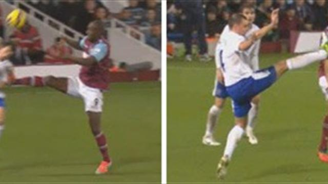 Premier League - Cole and Gibson win red card appeals