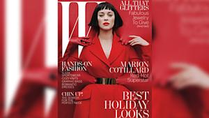 Marion Cotillard's Scary-Sexy W Cover