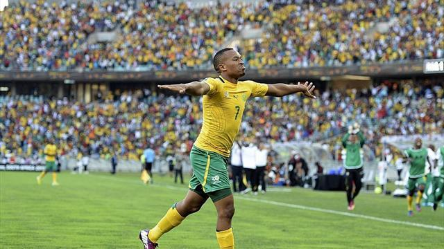 African Cup of Nations - South Africa striker Majoro fit for quarter-final