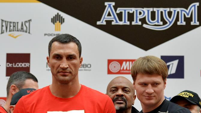 Alexander Povetkin Vs Wladimir Klitschko - Weigh In