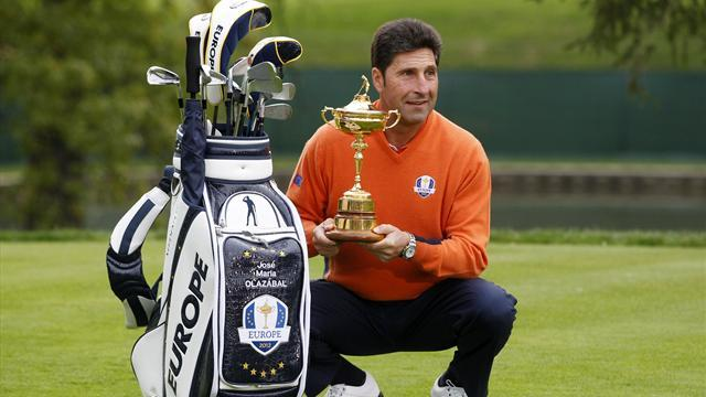 Golf - Olazabal: Seve Trophy should be worth Ryder points