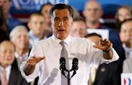 """Republican White House hopeful Mitt Romney, pictured last week, has appeared to contradict previous campaign statements by saying President Barack Obama's health reform law entails a """"tax"""" and not a penalty"""