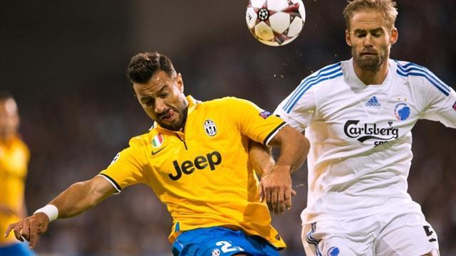 Champions League - Juventus frustrated as Copenhagen claim point