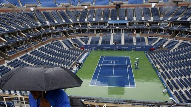 US Open - Show courts to get 'giant umbrella' roofs