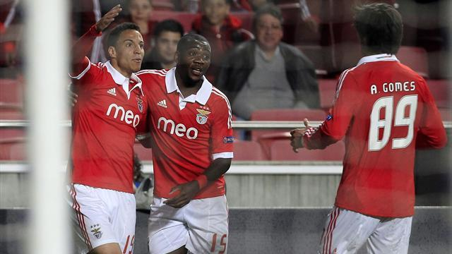 European Football - Benfica reach Portuguese Cup final