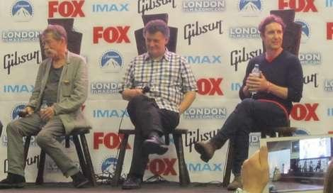 John Hurt, Steven Moffat and Paul McGann discuss Doctor Who at the London Film and Comic Con