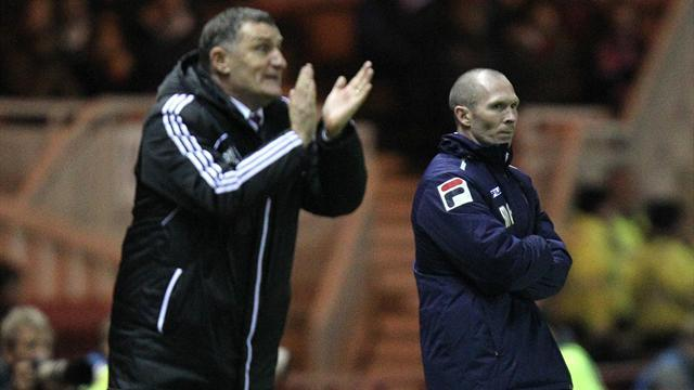 Football - Mowbray relieved after thriller