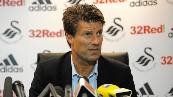 Michael Laudrup was impressed by Swansea's performance against QPR