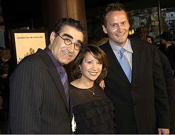 Premiere: Eugene Levy, Cheri Oteri and John Michael Higgins at the Hollywood premiere of Warner Bros. A Mighty Wind - 4/14/2003