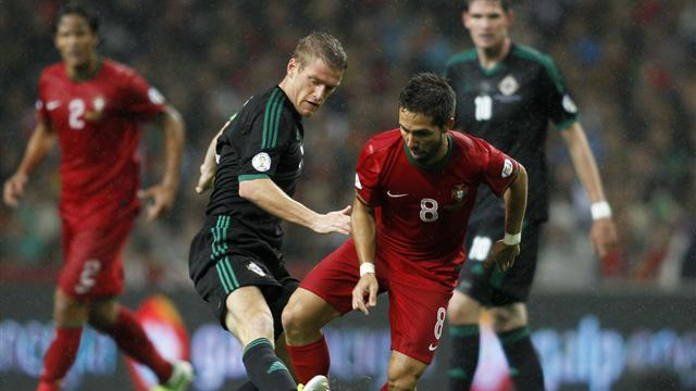 World Cup: Ronaldo frustrated as Northern Ireland hold Portugal