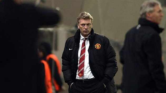 Manchester United manager David Moyes (AFP)