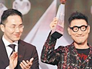 Jackie Cheung wins Honorary Award